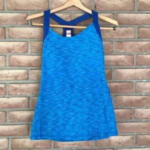 Lucy size M variegated blue, tank top